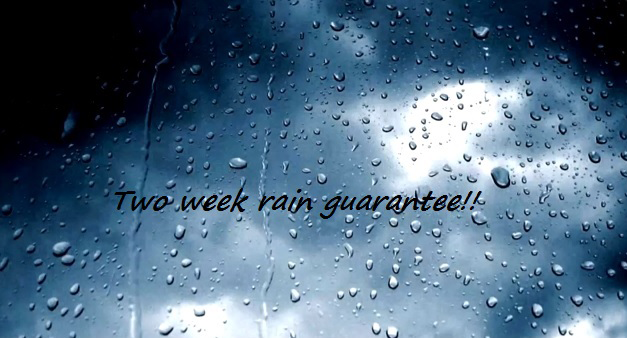 two week rain guarantee